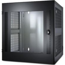 AR100 Шкаф APC NetShelter WX 13U, Настенный корпус с вентилируемыми дверьми, черный