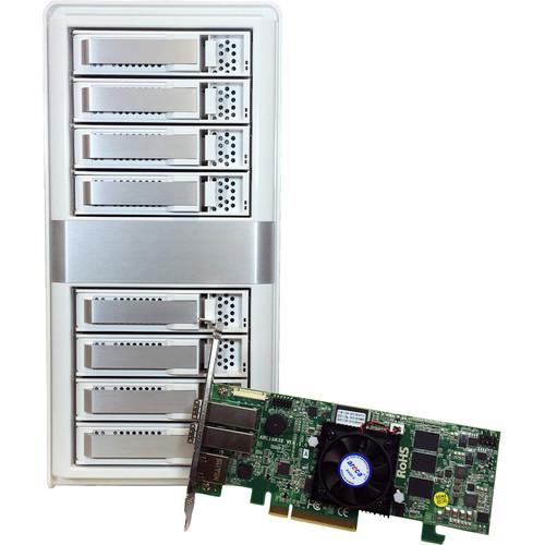 ARC-4038X Дисковое хранилище Areca ARC-4038X 8-Bay 12Gb SAS Expander JBOD Tower Enclosure