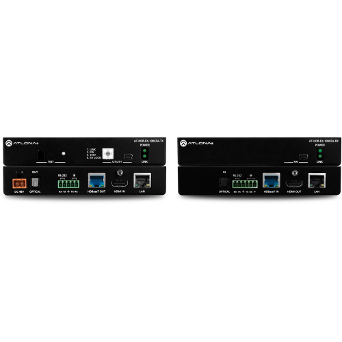 AT-HDR-EX-100CEA-KIT передатчик и приемник видеосигнала ATLONA 4K HDR HDMI HDBaseT Transmitter and Receiver Set with Ethernet, Control, PoE and Return Audio (330')