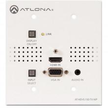 AT-HDVS-150-TX-WP Видео удлинитель/репитер ATLONA Two-Input HDMI / VGA to HDBaseT US Wall Plate Switcher