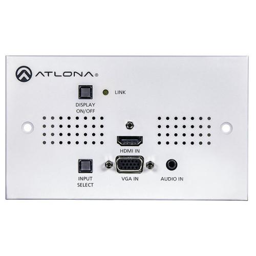 AT-HDVS-150-TX-WP-UK Видео удлинитель/репитер ATLONA Two-Input HDMI / VGA to HDBaseT UK Wall Plate Switcher