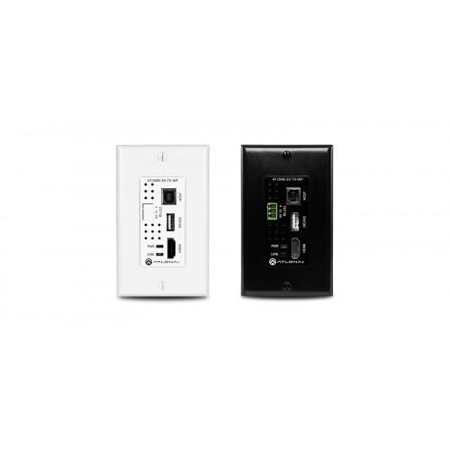 AT-OME-EX-TX-WP передатчик видеосигнала ATLONA Omega 4K/UHD HDMI/USB Wall Plate Transmitter (330')