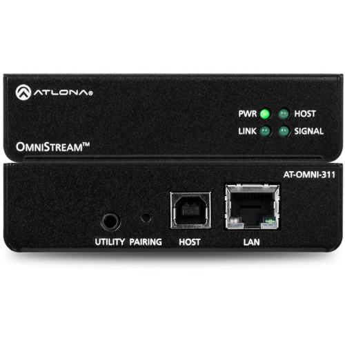 AT-OMNI-311 Видео удлинитель/репитер ATLONA OmniStream 311 Host Side USB to IP Adapter