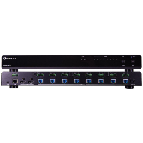 AT-UHD-CAT-8 Видео удлинитель/репитер ATLONA 4K/UHD HDMI to 8-Output HDBaseT Distribution Amplifier
