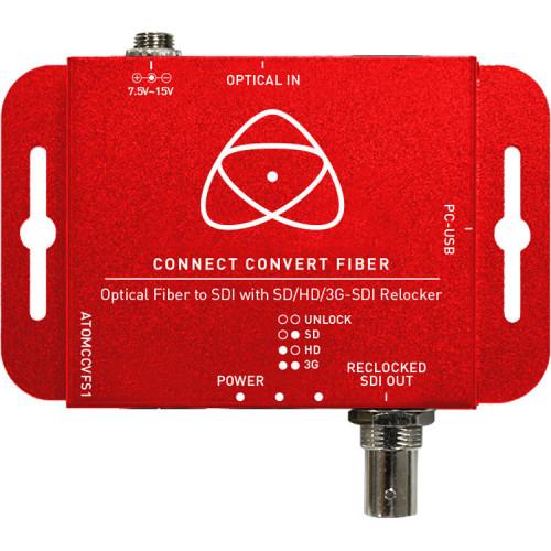 ATOMCCVFS1 Видео удлинитель/репитер ATOMOS Connect Convert Fiber - Fiber to SDI