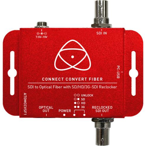 ATOMCCVSF1 Видео удлинитель/репитер ATOMOS Connect Convert Fiber - SDI to Fiber