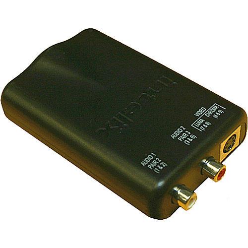 AVO-SVA2-F Видео удлинитель/репитер INTELIX Cat-5 Stereo Audio and S-Video Modular Balun