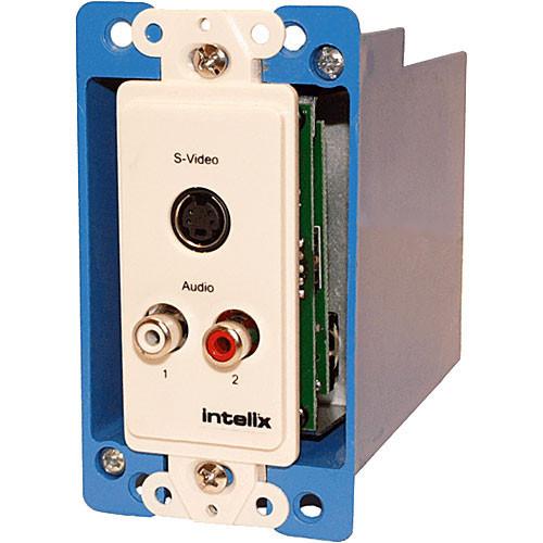 AVO-SVA2-WP-F Видео удлинитель/репитер INTELIX Cat-5 Stereo Audio and S-Video Wall Plate Balun
