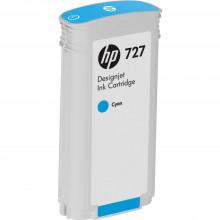 B3P19A Струйный картридж HP 727 Cyan Designjet Ink Cartridge (130 ml) - Бирюзовый