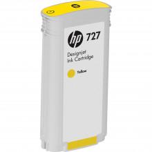 B3P21A Струйный картридж HP 727 Yellow Designjet Ink Cartridge (130 ml) - желтый