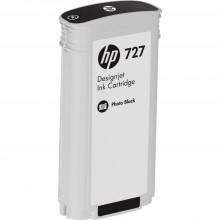 B3P23A Струйный картридж HP 727 Photo Black Designjet Ink Cartridge (130 ml) - Черный