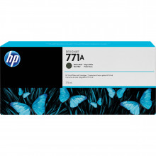 B6Y15A Струйный картридж HP 771A DesignJet 775mL Matte Black Ink Cartridge - Черный