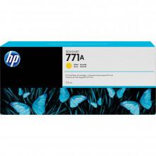 B6Y18A Струйный картридж HP 771A DesignJet 775mL Yellow Ink Cartridge - желтый
