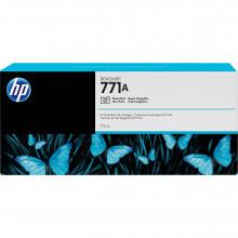 B6Y21A Струйный картридж HP 771A DesignJet 775mL Photo Black Ink Cartridge - Черный