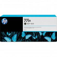 B6Y39A Струйный картридж HP 771A DesignJet 775mL Matte Black Ink Cartridge (3шт) - Черный