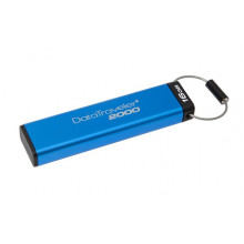 DT2000/16GB Флэш-накопитель Kingston 16GB Keypad USB 3.0 DT2000 256-Bit AES