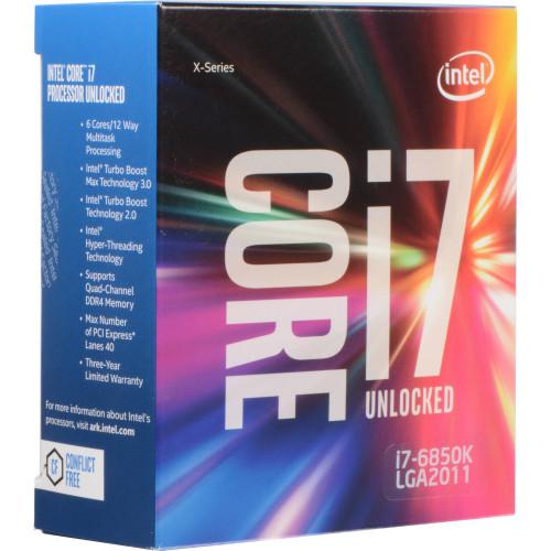 BX80671I76850K Процессор Intel Boxed Core I7-6850K FC-LGA14A 3.80G 15M Cache