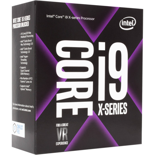BX80673I97900X Процессор INTEL Core i9-7900X X-Series 3.3GHz Ten-Core LGA2066