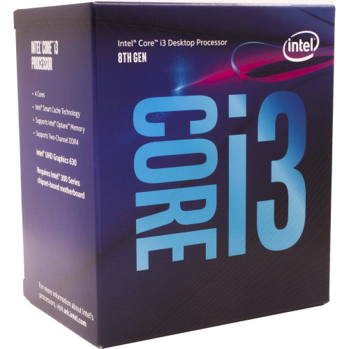 BX80684I38300 Процессор Intel Core i3-8300 3.7GHz 4-Core LGA 1151