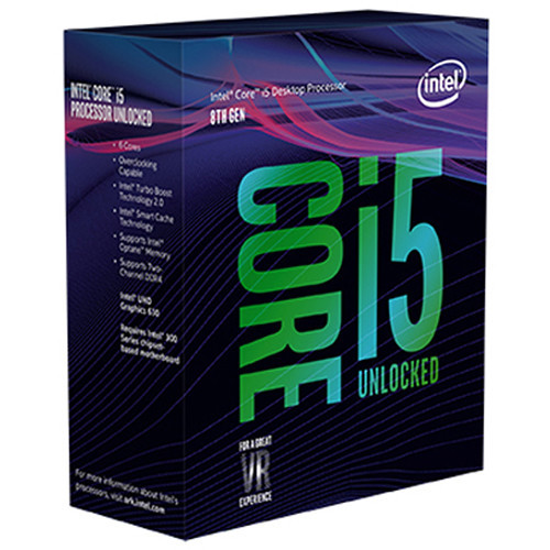 BX80684I58600K Процессор Intel Core i5-8600K 3.6 GHz 6-Core LGA 1151