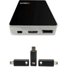 C26CKK-SL внешний SSD Накопитель Rocstor 1TB Hawker HX USB 3.0 Encrypt ESATA