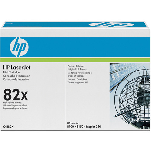 C4182X картридж HP 82x LaserJet Black Print Cartridges (20,000 Pages Each) - Черный
