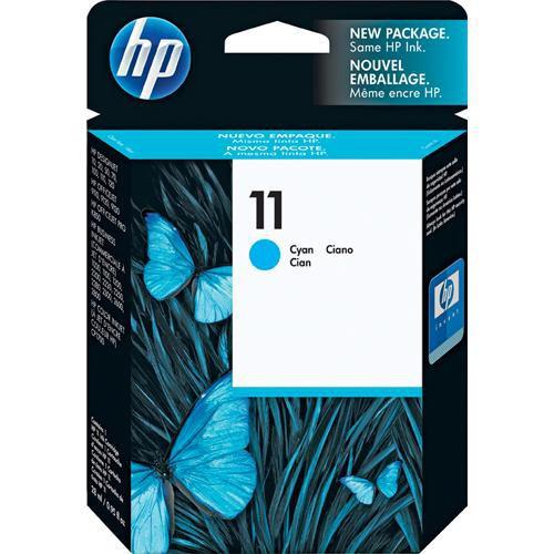 C4836A Струйный картридж HP 11 Cyan Ink Cartridge - Бирюзовый