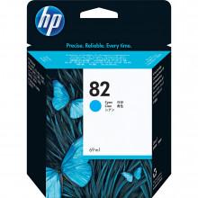 C4911A Струйный картридж HP 82 Cyan Ink Cartridge (69ml) for HP DesignJet 500SP and 800SP Printers - Бирюзовый