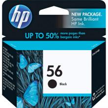 C6656AN#140 картридж HP 56 Black Inkjet Print Cartridge (19ml) - Черный