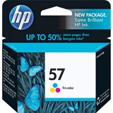 C6657AN#140 картридж HP 57 Tri-Color Inkjet Print Cartridge (17ml) - Трехцветный