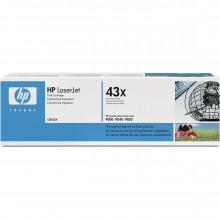 C8543X лазерный картридж HP LaserJet 43X Black Toner Cartridge (Maximum Capacity) - Черный