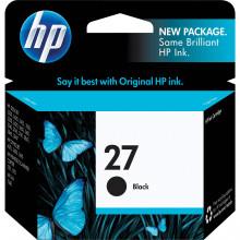 C8727AN#140 Струйный картридж HP 27 Black Ink Cartridge - Черный