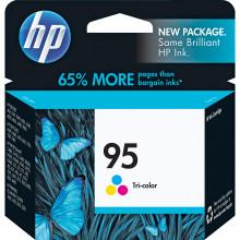 C8766WN#140 картридж HP 95 Tri-color Inkjet Print Cartridge (7ml) - Трехцветный