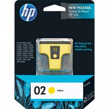 C8773WN#140 картридж HP 02 Yellow Inkjet Print Cartridge (6ml) - желтый