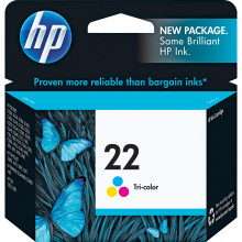 C9352AN#140 картридж HP 22 Tri-color Inkjet Print Cartridge (5ml) for PSC 1410 All-in-One - Трехцветный