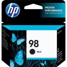 C9364WN#140 Струйный картридж HP 98 Black Ink Cartridge - Черный