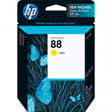 C9388AN#140 Струйный картридж HP 88 Yellow Ink Cartridge for HP OfficeJet Pro K550 Printer - желтый