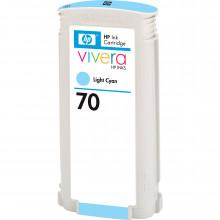 C9390A Струйный картридж HP 70 Light Cyan Ink Cartridge (130 ml) - Бирюзовый