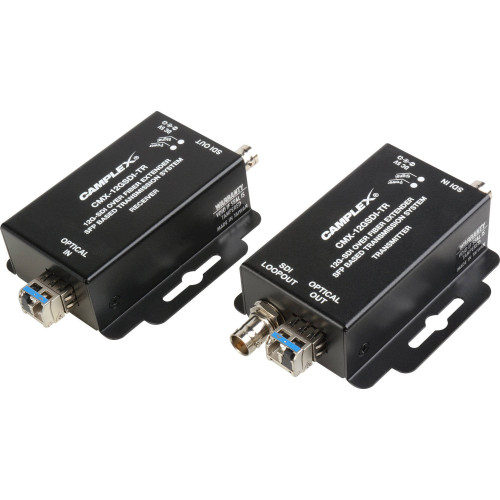 CMX-12GSDI-TR Видео удлинитель/репитер CAMPLEX 12G SDI Over Singlemode Fiber Extender SFP-Based Transmission System