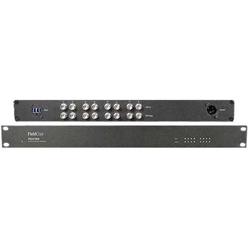 CO101 Видео удлинитель/репитер FIELDCAST Mux/Demux Two (8-Channel 12G-SDI to Fiber Optic Multiplexer-Demultiplexer CWDM Box)