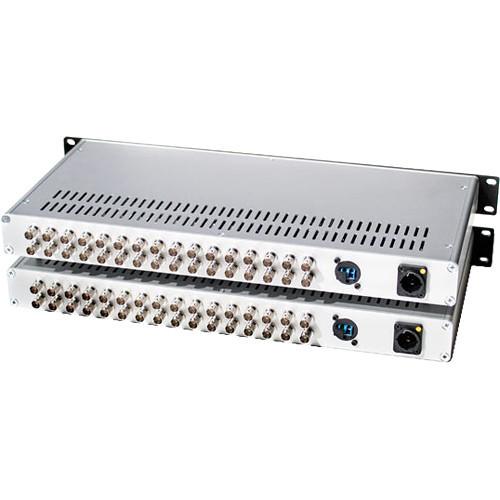 CO102 Видео удлинитель/репитер FIELDCAST Mux/Demux Three (16-Channel 12G-SDI to Fiber Optic Multiplexer-Demultiplexer CWDM Box)
