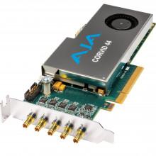 CORVID 44-S-NC1 Плата видеозахвата AJA Corvid 44 Low-Profile 8-Lane PCIe Express Gen 2.0 Card (No Cable)