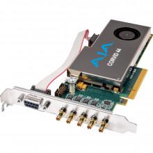 CORVID 44-T Плата видеозахвата AJA Corvid 44 Standard-Profile 8-Lane PCIe Express Gen 2.0 Card (With Cable)