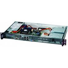 CSE-505-203B Корпус для сервера SUPERMICRO Rackmount Mini 1U w/ 200W 80+ Gold P/S