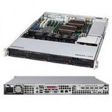 Корпус для сервера 1U 600W BLACK CSE-815TQ-600CB SUPERMICRO