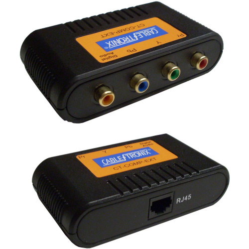 CT-COMP-EXT Видео удлинитель/репитер CABLETRONIX Baluns for Component Video & Digital Audio Over CAT5e (Pair)