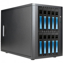 DAGE1040BL-PM Дисковое хранилище iStarUSA DAGE1040-PM 10-Bay eSATA JBOD Enclosure (Blue)
