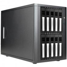 DAGE1040SL-PM Дисковое хранилище iStarUSA DAGE1040-PM 10-Bay eSATA JBOD Enclosure (Silver)