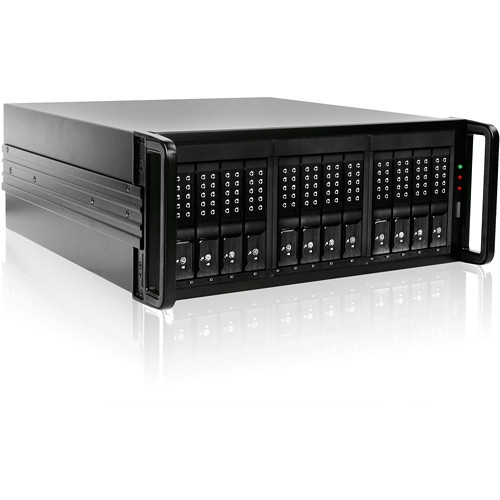 DAGE412U40DEBK-3MS Дисковое хранилище iStarUSA DAGE412U40DE-3MS 12-Bay Mini-SAS RAID Enclosure (Black)