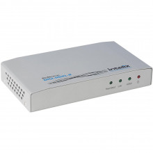 DIGI-HDXL-R приемник видеосигнала INTELIX HDMI Extender Receiver Unit over HDBaseT with Ethernet, RS232, Bi-Directional IR, and PoE (492')